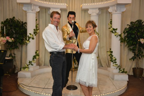 67055b7be4 30th Wedding Anniversary vow renewal :) - Picture of A Elvis Chapel ...