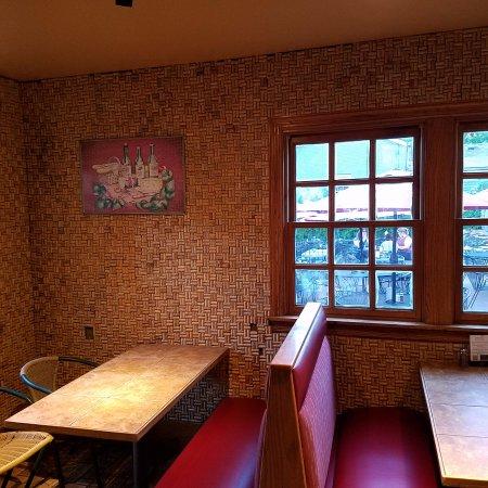 Saint Charles, MO: Cork wall and ceiling!
