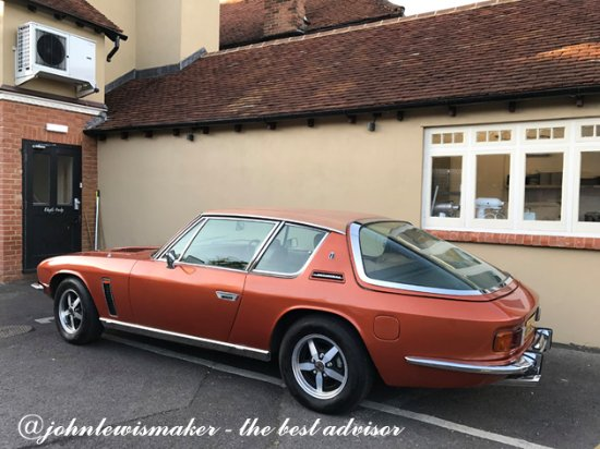 Chalfont St. Giles, UK: Chef's Car?
