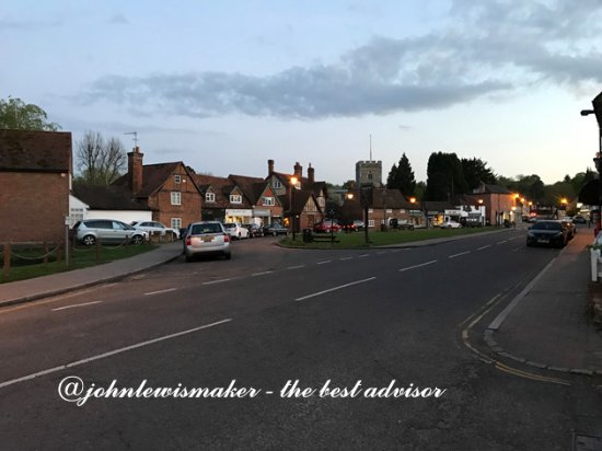 Chalfont St. Giles, UK: Looking Back
