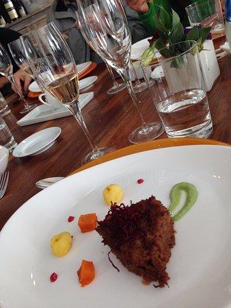 Agrelo, Argentyna: Almoço na Chandon