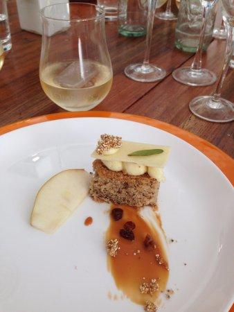 Agrelo, Argentyna: Sobremesa do almoço harmonizado
