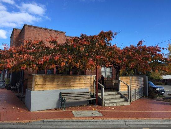 Geeveston, Avustralya: Back patio