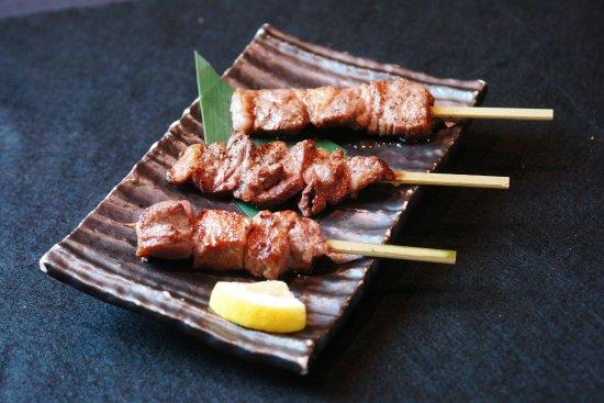 Kushiyaki Bistro Fukumimi Shibuya: BEEF COURSE