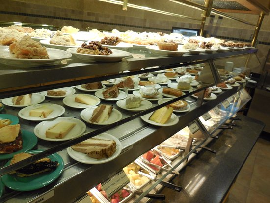 A wide variety of dessert choices. - Picture of Shady ...