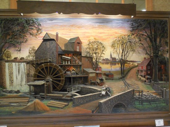 East Earl, PA: 3-D art work to peruse.