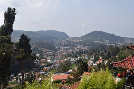 Gem Park-Ooty: View from Toda cafe in 5th floor