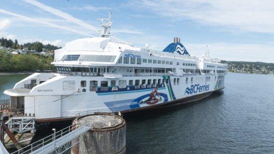 Nanaimo, Canada: Ferry