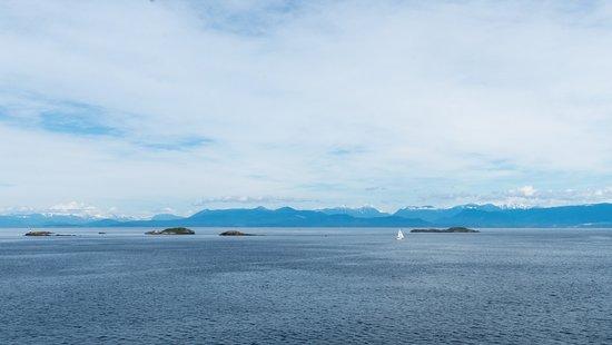 Vue départ de Nanaimo