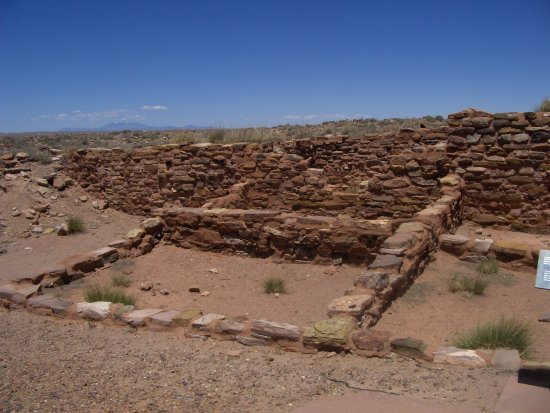 Winslow, AZ: Part of ruins