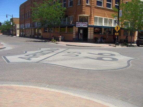 Winslow, AZ: A corner