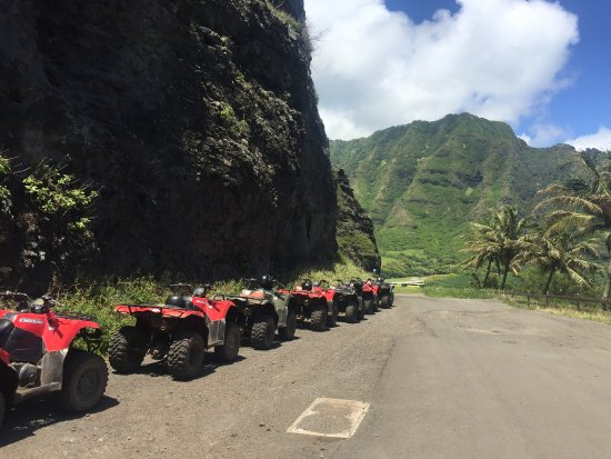 Kaneohe, HI: About to get into the ranch