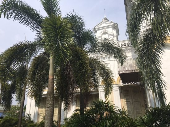 Sultan Abu Bakar State Mosque: view from outside