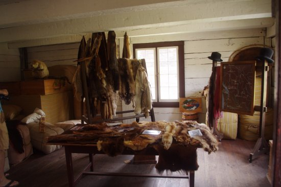 Fort Langley, Canada: Fur