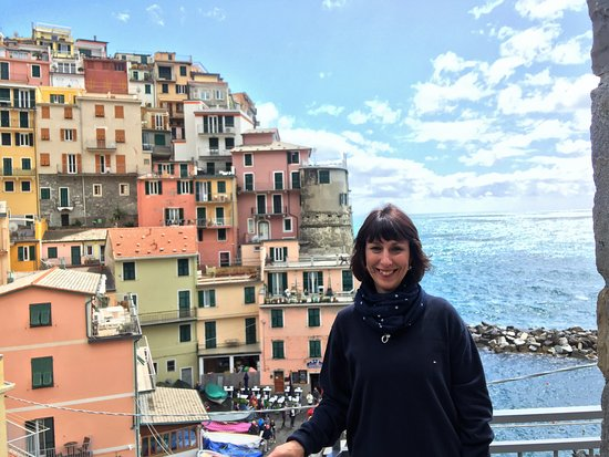 Avventure Bellissime Rome: View from our balcony in Cinque Terre