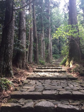 Nachikatsura-cho, Ιαπωνία: The ancient route to the water fall