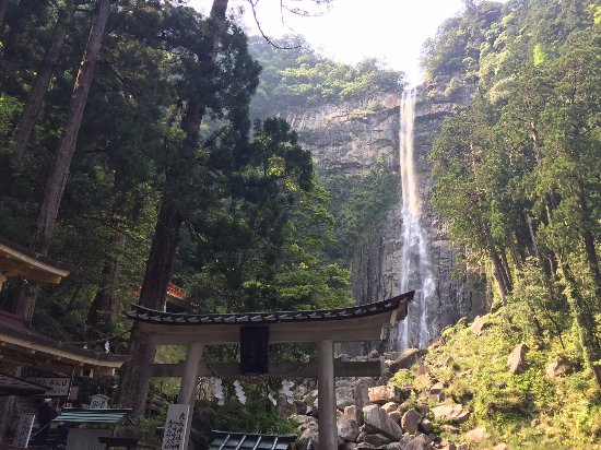 Nachikatsura-cho, Japan: The Water fall