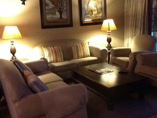 Winterton, Sudáfrica: Stunning large lounge with fire place