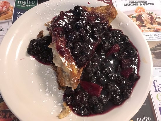 """Coral Springs, FL: Half portion of the """"Yo Hala on the Square"""" French Toast"""