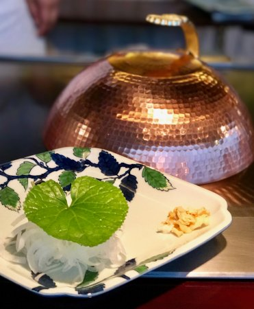 Omotesando Ukaitei: gleaming copper