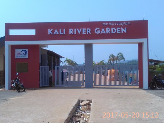 Karwar, Ấn Độ: Welcome to Kali River Garden
