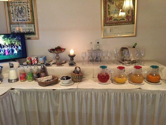 Hotel Insel Mühle: Good breakfast