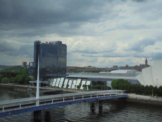 Premier Inn Glasgow Pacific Quay (SECC) Hotel: view from room 535
