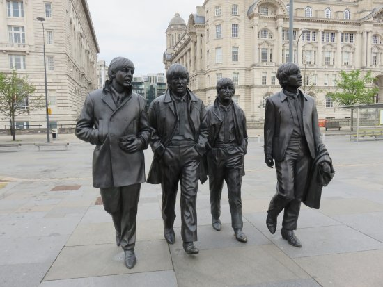 Image result for beatles statues
