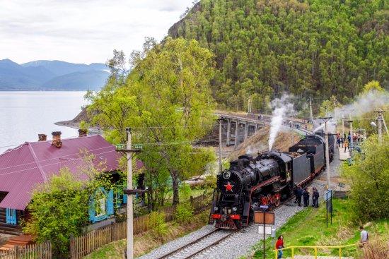 Circumbaikal Railway: Остановочный пункт - ст. Маритуй