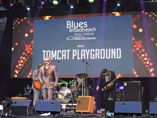 Broadbeach, Australia: All excellent musicians