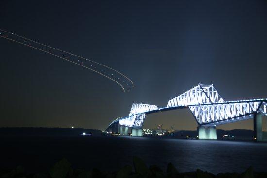 Tokyo Gate Bridge : ゲートブリッジと飛行機