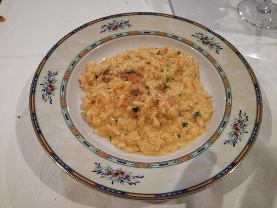 Capodimonte, Italien: risotto alla crema di scampi