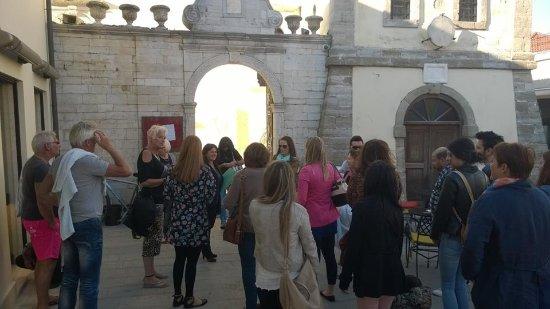 Preveza, Yunani: Σημείο συνάντησης για την έναρξη της περιήγησης:το Ρολόι της Πρέβεζας