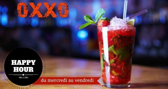 Villeurbanne, Frankrike: Happy hour OXXO Lyon