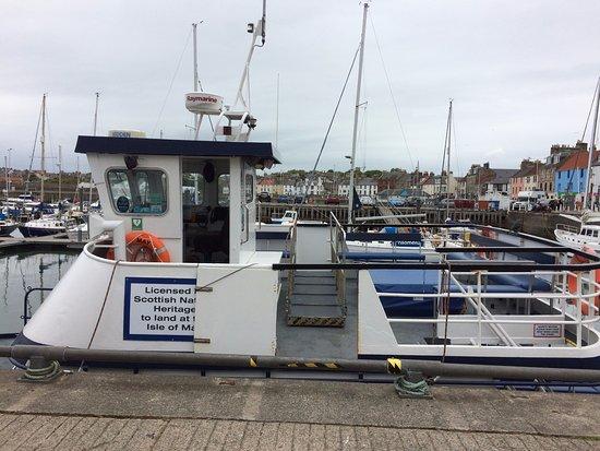 Анстратер, UK: Boarding point