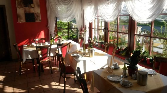 Schierke, Niemcy: Frühstücksraum