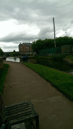 Stone, UK: canal side