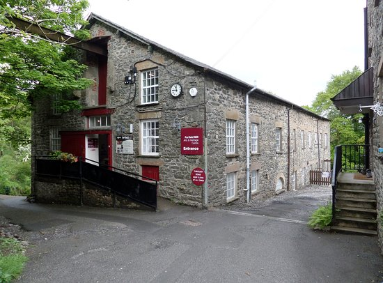 Sedbergh, UK: The main mill building