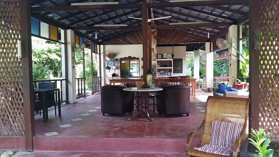 Pondok Keladi Guest House: Common area