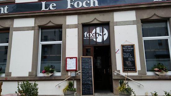 Lingolsheim, Fransa: Entrée du restaurant