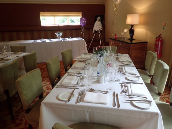Worsley, UK: Our custom layout for the party with 50 people
