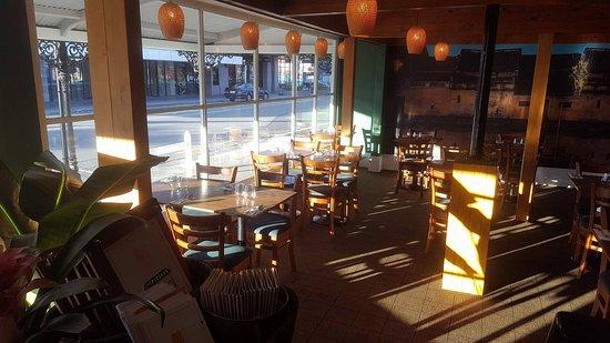 Rangiora, New Zealand: sun set at NomNom