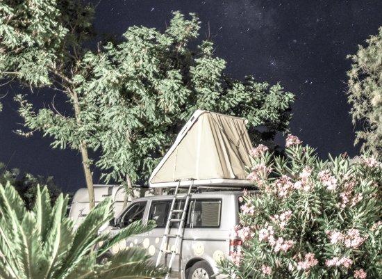 Glyfa, Grécia: Camping Ionion Beach