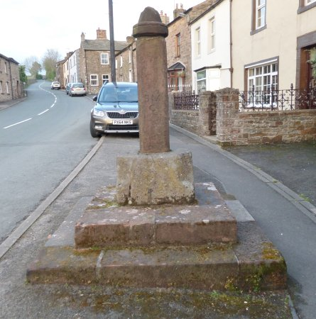 The old market cross at Brough