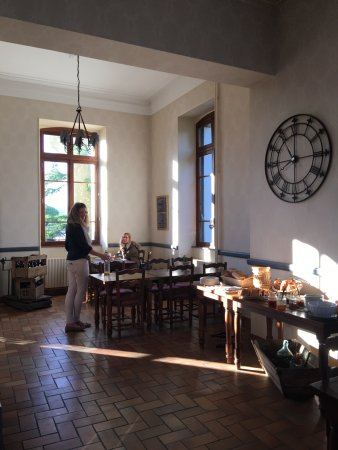 Ruoms, France: breakfast room