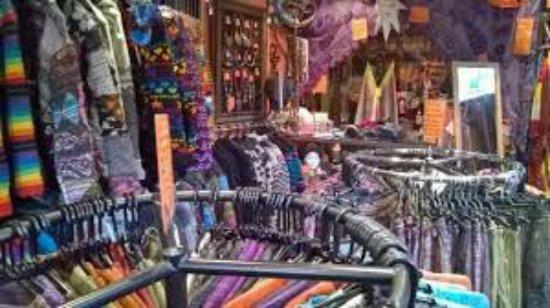 Ashbourne, UK: inside Matlock shop