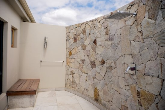 Addo, South Africa: Outdoor Showers for nature lovers