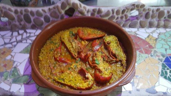 Эльда, Испания: arroz con bogabante