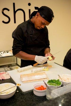 Addo, Zuid-Afrika: Restaurant & Suhi Bar