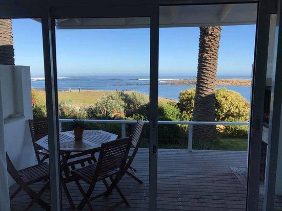 Kommetjie, South Africa: view from cottage overlooking ocean